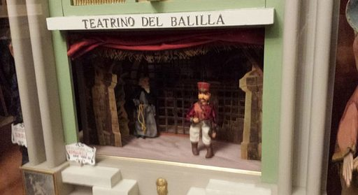 Collections of marionettes, puppets and theatres
