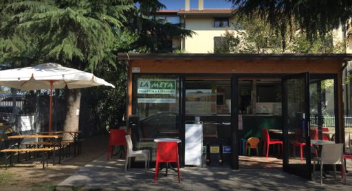 La Meta kiosk