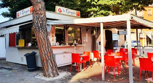 La Greppia kiosk