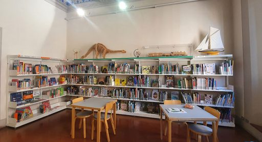Biblioteca ragazzi Casa Piani